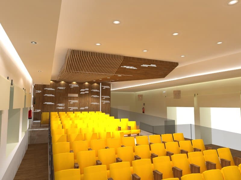 La Casa de la Cultura estrenará un nuevo Salón de Actos