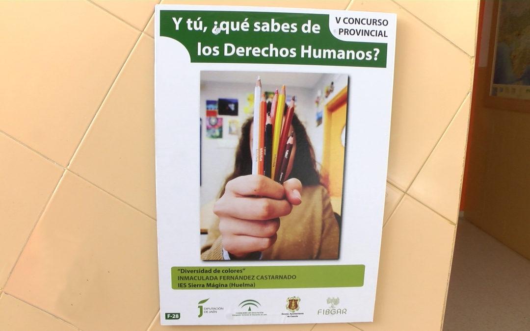 El IES Sierra de la Grana inaugura una exposición sobre los Derechos Humanos
