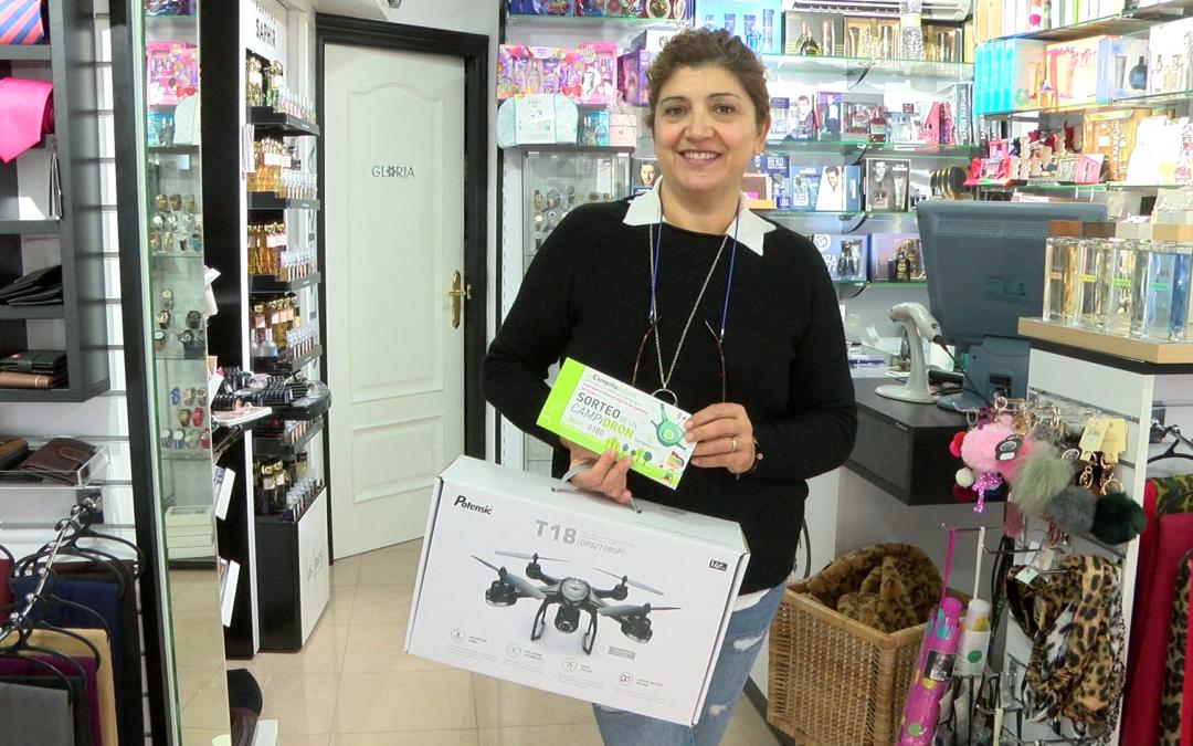 Gloria Cazalla es la ganadora del dron sorteado por Campiña Digital