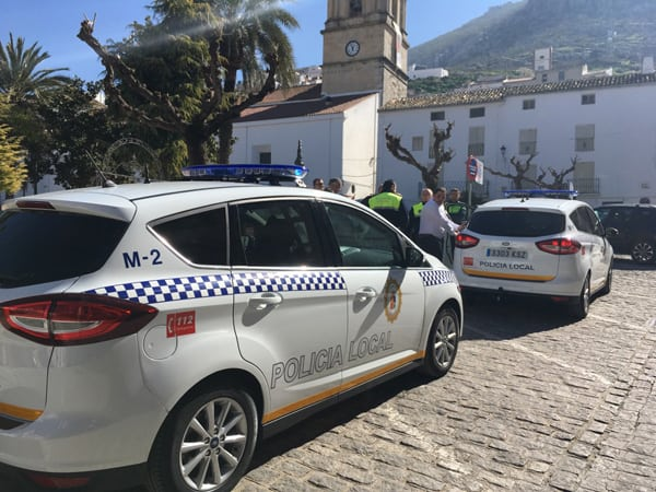 Nuevos vehículos para la Policía Local