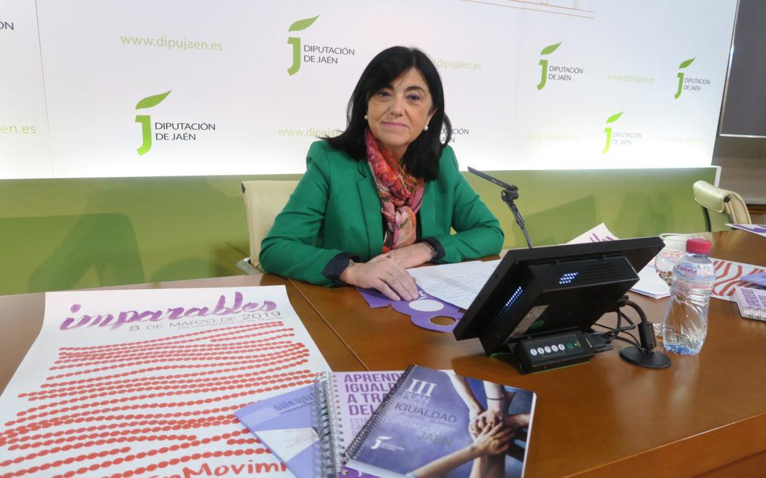 Diputación diseña un programa de 40 actividades para conmemorar el Día Internacional de la Mujer