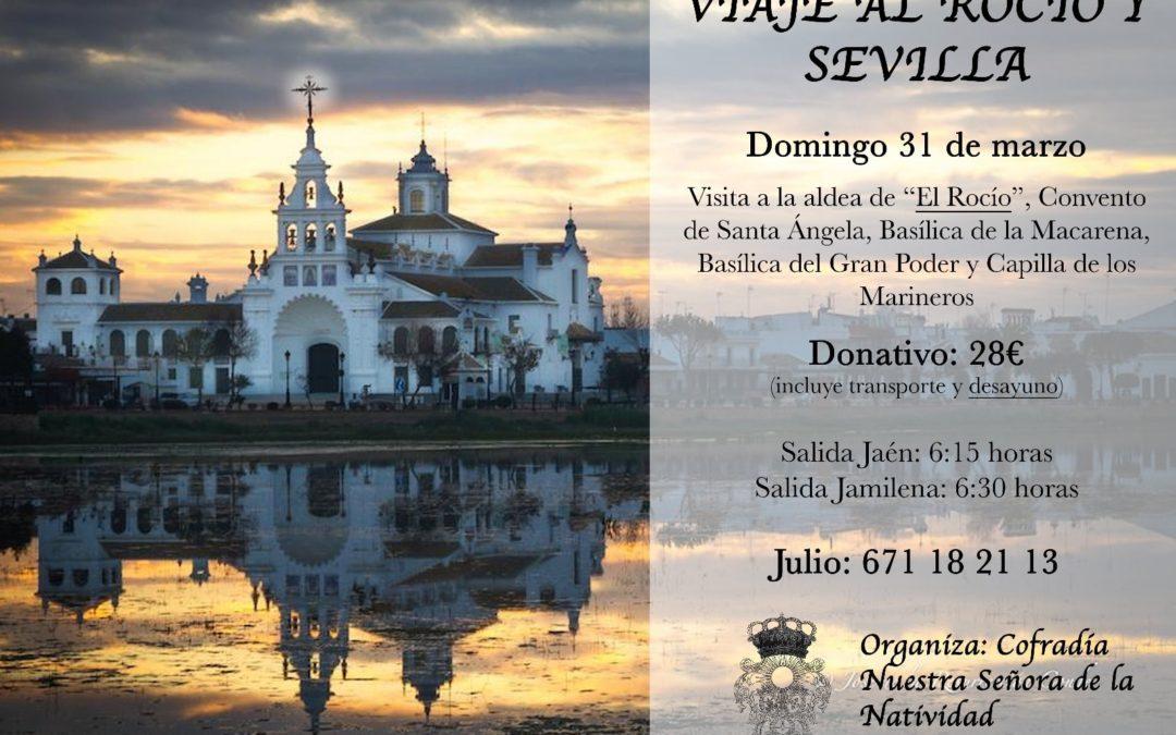La Cofradía de Nuestra Señora de la Natividad organiza un viaje al Rocío y a Sevilla