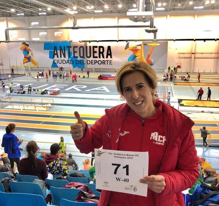 Excelente resultado de Yolanda Arjonilla en el Campeonato de Andalucía Máster