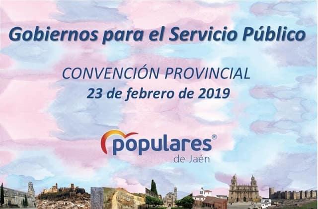 """Convención provincial en el PP bajo el lema """"Gobiernos para el servicio público"""""""