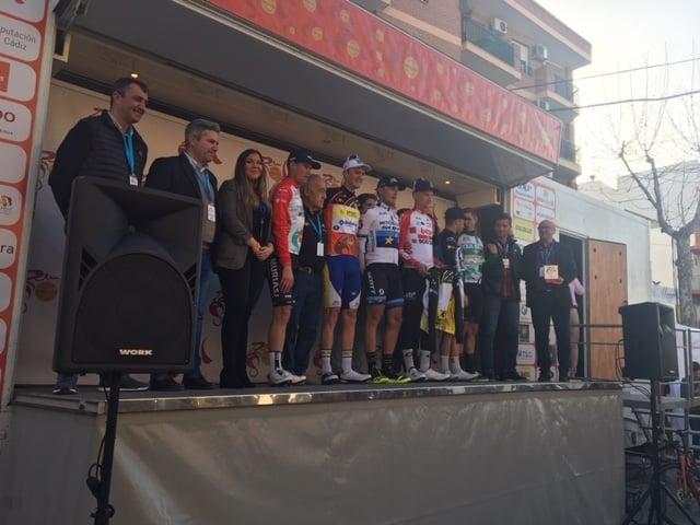 Matteo Trentin triunfa en la segunda etapa de la Vuelta a Andalucía
