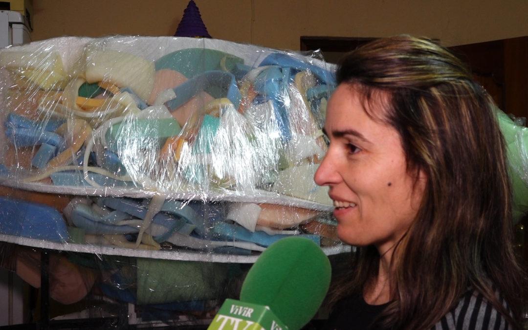 Jamilena prepara el entierro de la sardina