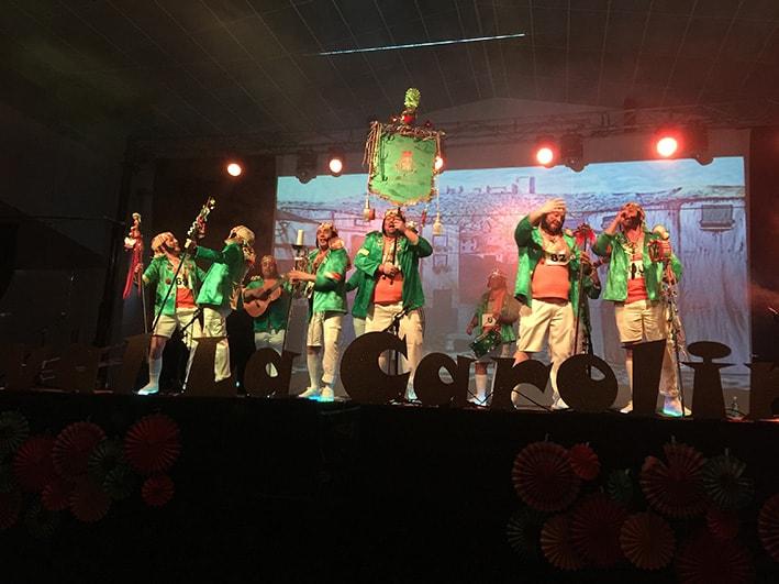 Gran afluencia de público en las semifinales del VIII Concurso de Agrupaciones Carnavaleras La Carolina Ciudad del Carnaval 2019