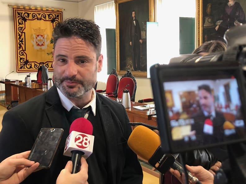 """Hervás (Cs), """"El Ayuntamiento debe mirar al futuro de Linares e ir de la mano con el nuevo Gobierno andaluz"""""""