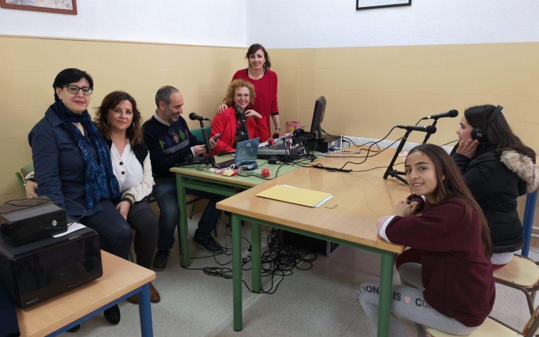 Los alumnos del IES Sierra de la Grana ponen en marcha su nueva radio escolar