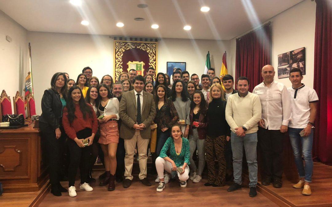 Marmolejo premia la labor de sus corresponsales juveniles