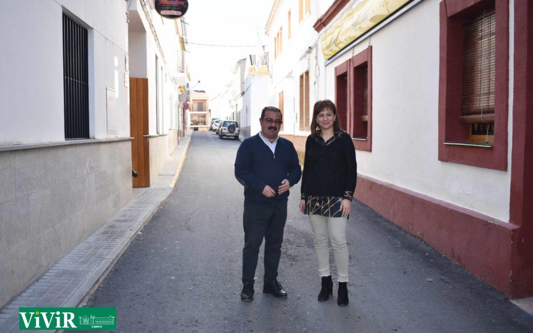 Diputación invierte en Lopera 108.000 euros en la pavimentación y arreglo de calles