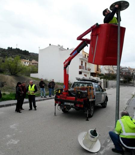 Un total de 77 municipios recibirán 13,5 millones de euros para mejorar la eficiencia energética de su alumbrado
