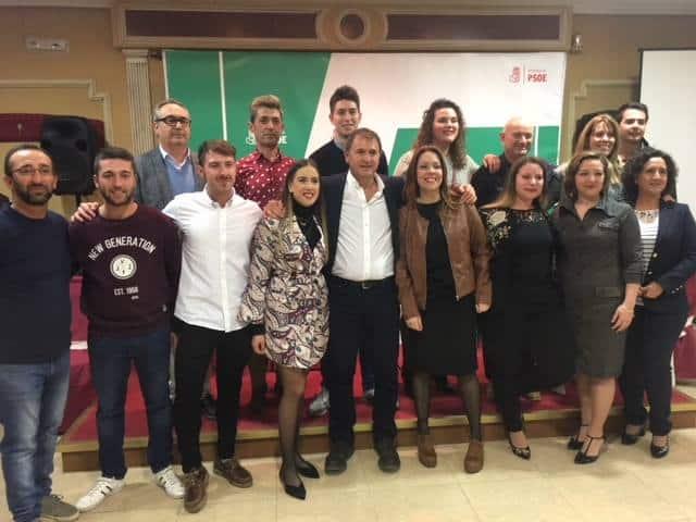 El PSOE de Villanueva de la Reina presenta su candidatura para las elecciones
