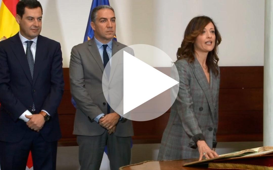 Maribel Lozano toma posesión como nueva delegada del Gobierno de la Junta en Jaén