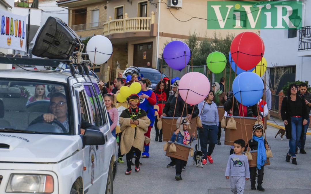La alegría del Carnaval llegó a Las Ventas del Carrizal