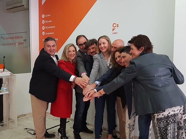 Los linarenses Pedro Cintero y Rosel Jiménez número 2 al Congreso y Senado por Cs