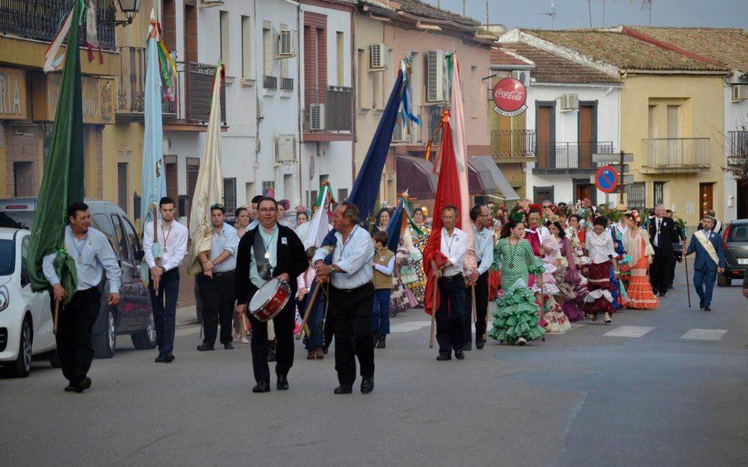 La cofradía de la Virgen de la Cabeza de Marmolejo anuncia los paseíllos de banderas