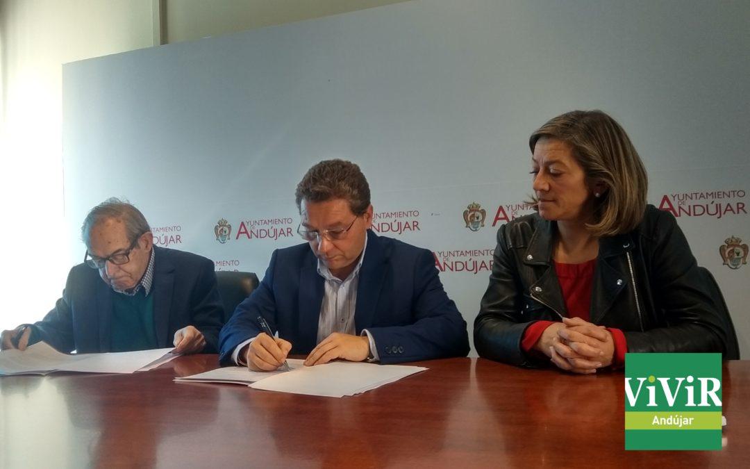 El Ayuntamiento de Andújar firma un nuevo convenio con Cámara de Comercio