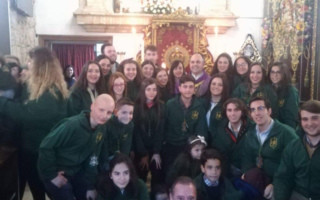 La maqueta de la Corona de Amor convierte a Jamilena en el epicentro rociero de Jaén
