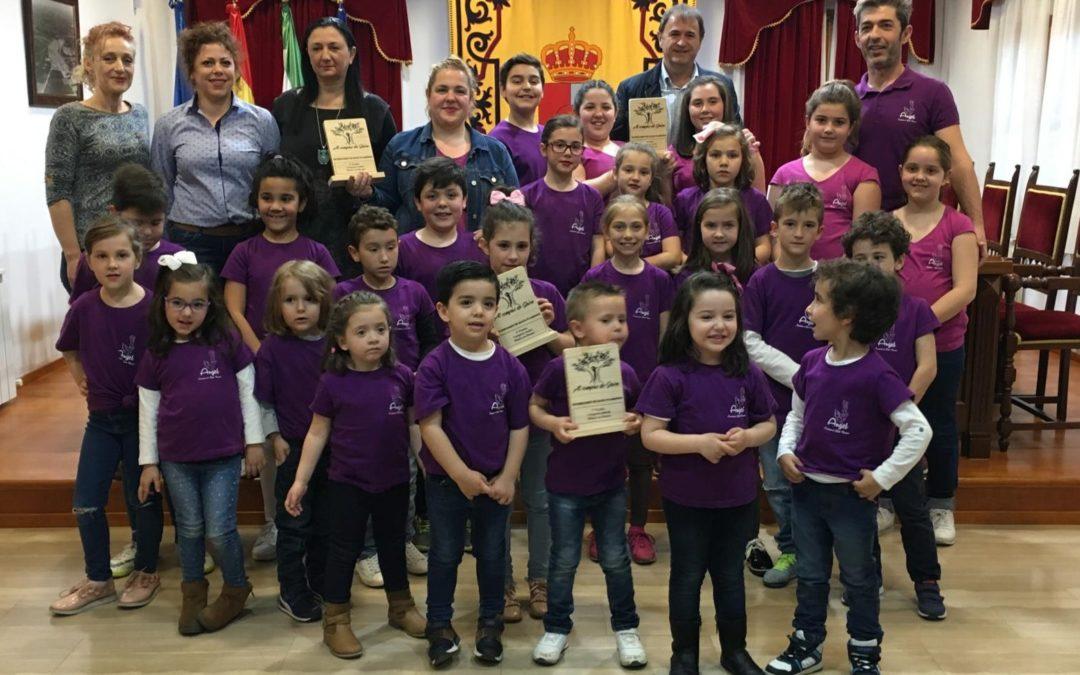 La Academia de baile flamenco «Ángel» triunfa en el Concurso «Al compás de Jaén»