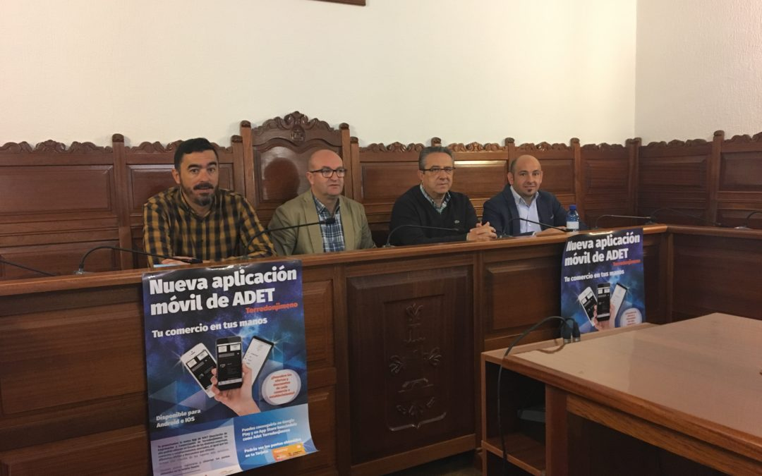 ADET lanza una APP para tener a un clic el comercio, ocio y eventos de Torredonjimeno