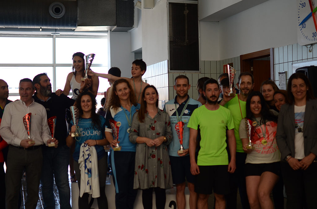 Doscientos nadadores en el Trofeo de Natación del Día de Andalucía