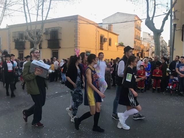 Una gran Cabalgata cierra el primer fin de semana del Carnaval de este año