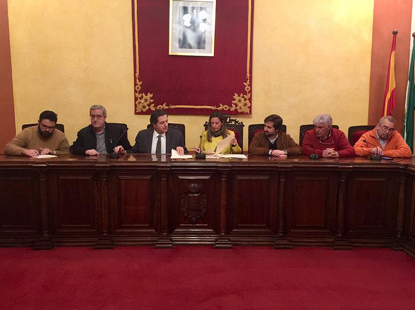 Ayuntamiento y Cofradías Penitenciales se unen para hacer brillar la Semana Santa carolinense