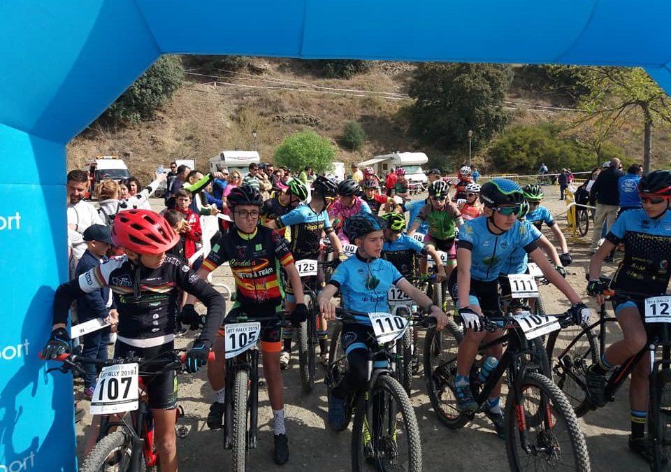 Más de 140 bikers respaldan el IV Rally BTT Ciudad de La Carolina Copa Diputación de Jaén