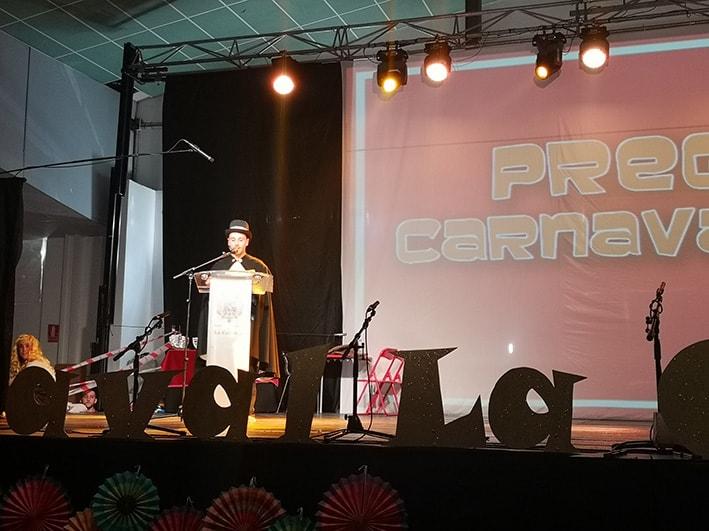 Emotivo pregón de Rafael Pintado para abrir el Carnaval 2019