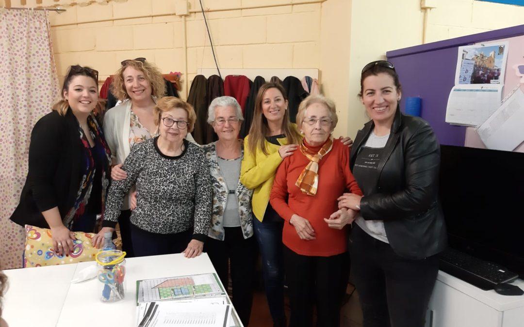 La Asociación de Alzhéimer expone a la alcaldesa sus necesidades de espacio