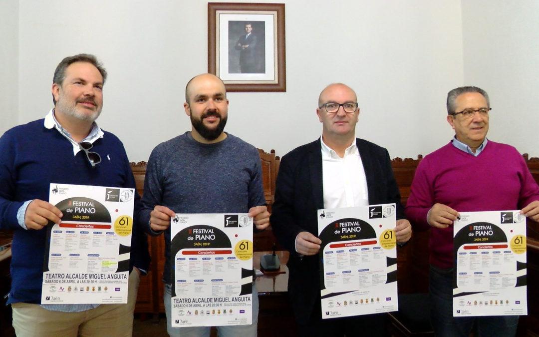 El Festival de Piano llegará a Torredonjimeno el próximo 6 de abril