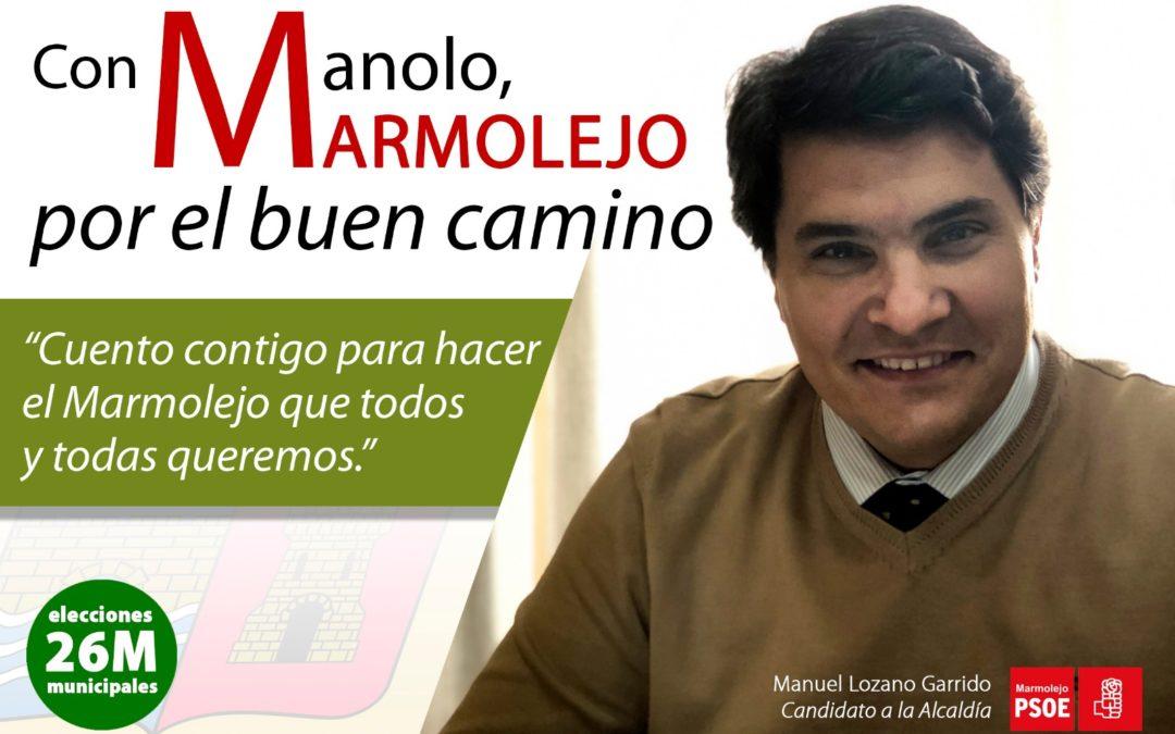El PSOE de Marmolejo recoge propuestas ciudadanas para su programa electoral