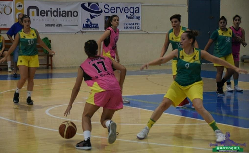 Victoria del senior del CAB Linares en la Liga Nacional femenina