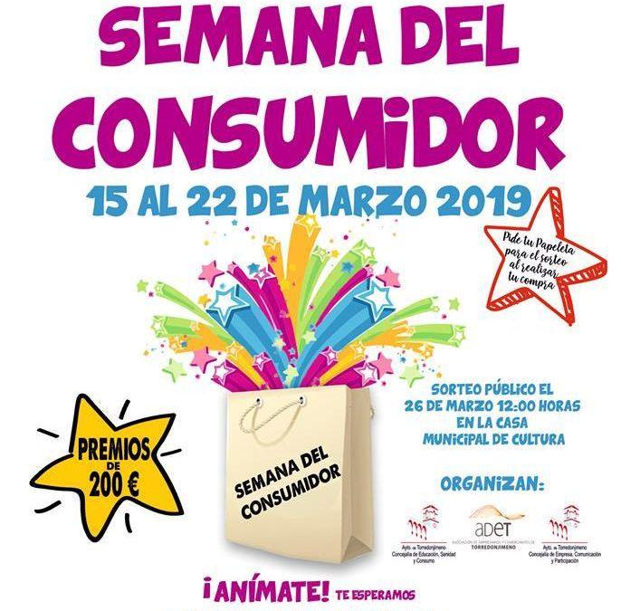 La Asociación de Empresarios y Comerciantes de Torredonjimeno celebra la semana del consumidor