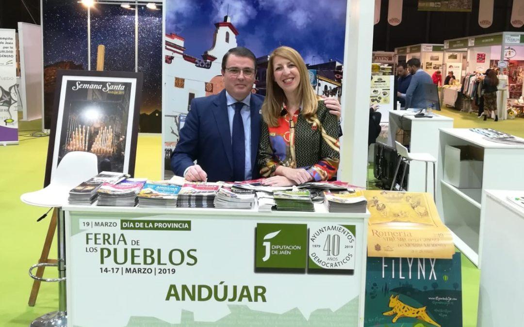 Andújar expone su potencial en la Feria de los Pueblos