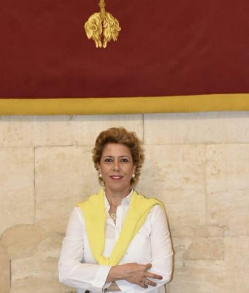 María del Mar Cantero, candidata del PP de Lopera a la alcaldía