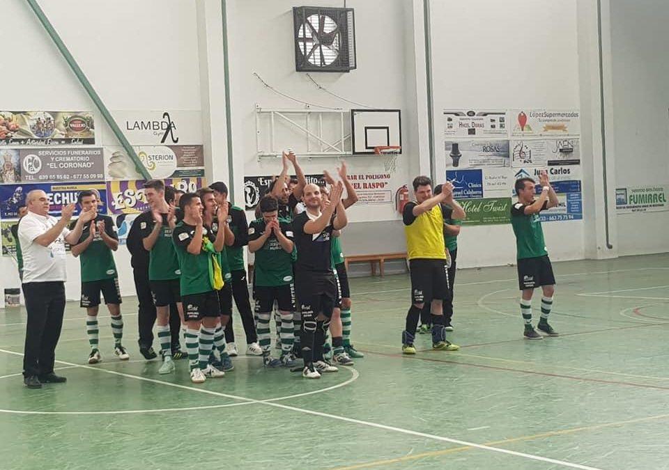 El Club Patín Bar asciende a Tercera tras derrota al Linares Futsal