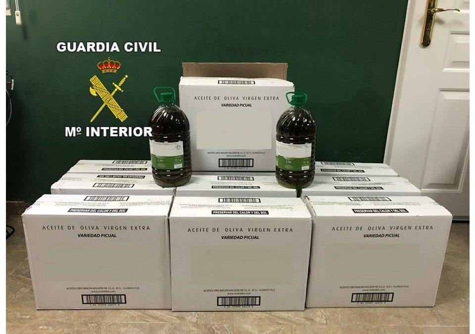 Detenido por comprar aceite a una almazara de Villanueva de la Reina con un justificante de pago falso