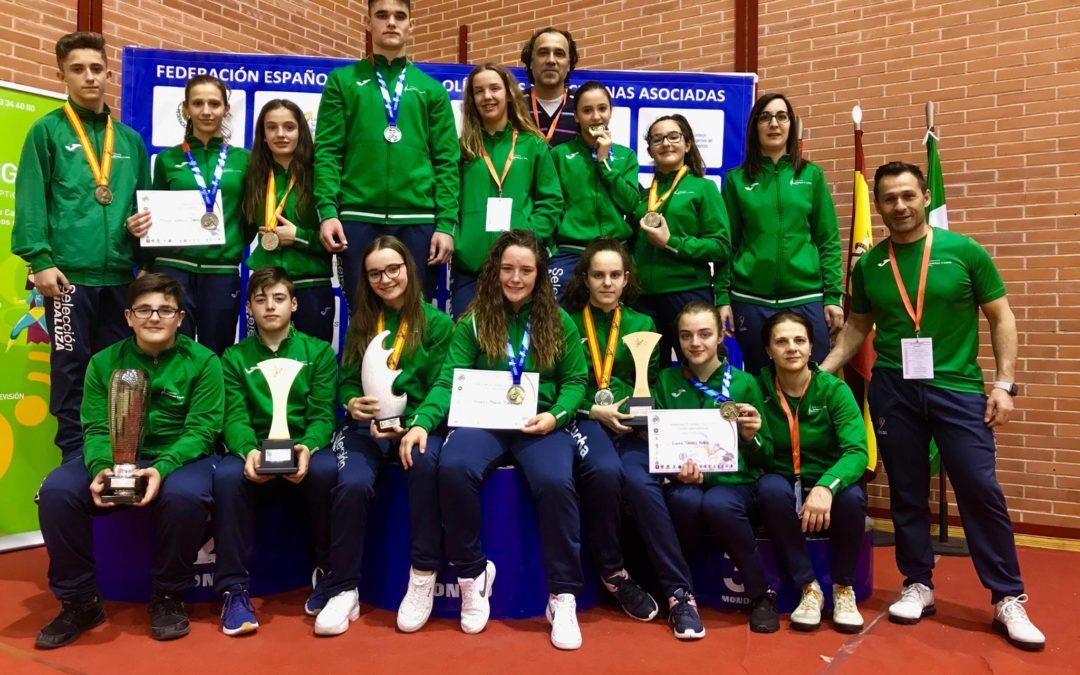 Campeones de España por Clubes tanto en Escolar U15 como en Cadetes U17 2019