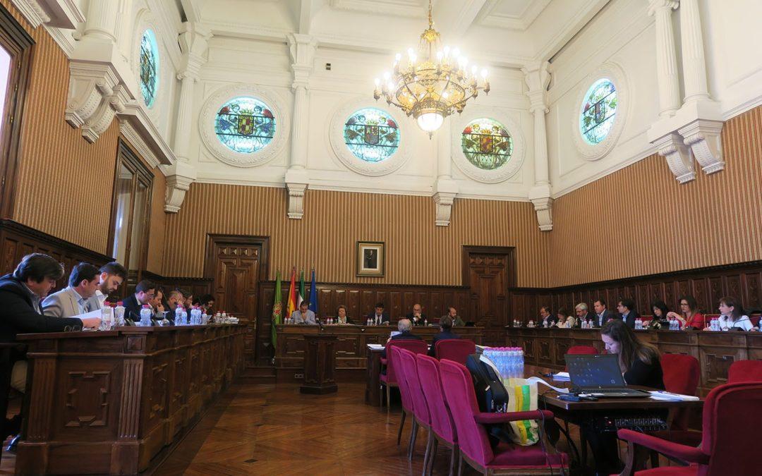 La Diputación de Jaén ejecuta en un 97% el presupuesto inicial del ejercicio 2018