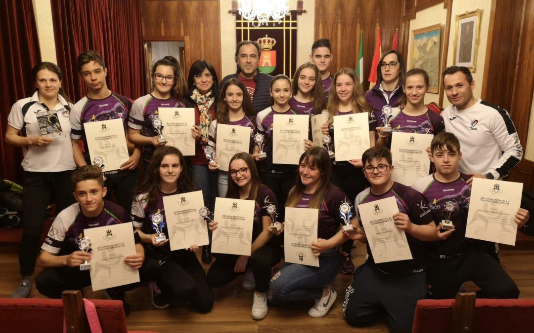 Reconocimiento a las victorias en el Campeonato de España de Lucha Escolar y Cadete