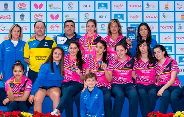 El Tecnigen Linares consigue el segundo puesto en la Copa de la Reina