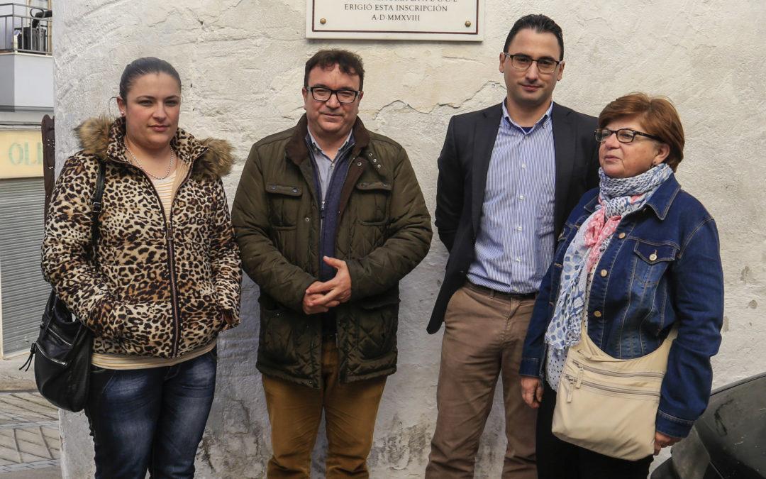 Homenaje a Juan de Aranda Salazar