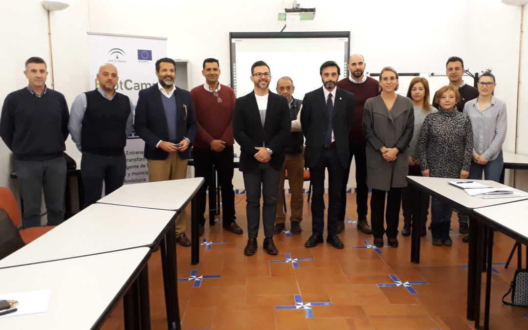 Arjona participa en el programa «Bootcamps» para implantar municipios inteligentes