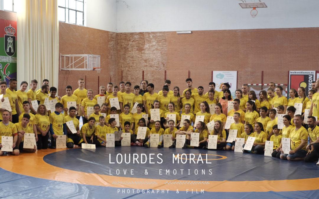 Deportistas internacionales se dan cita en la Concentración de Lucha de Torredelcampo