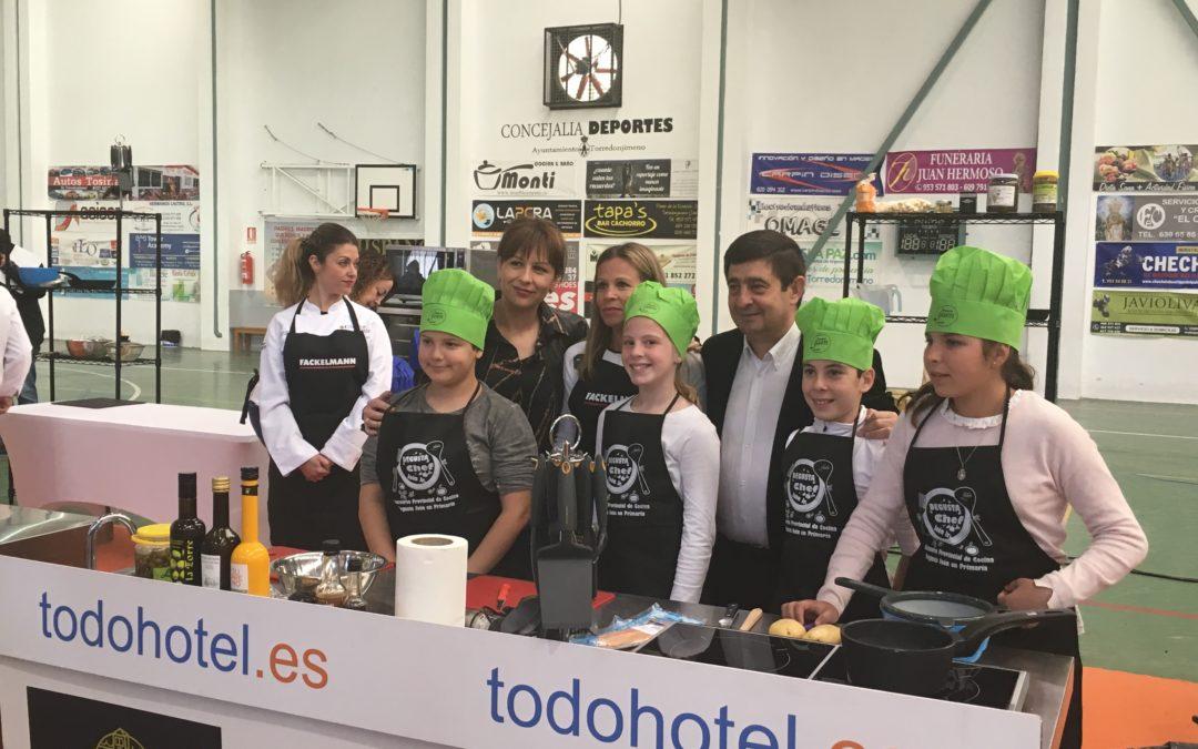 Tercer premio y mención especial para los pequeños cocineros loperanos