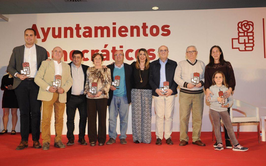 Homenaje del PSOE a sus alcaldes democráticos