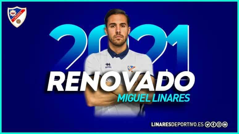 El Linares Deportivo renueva a Miguel Linares como director deportivo