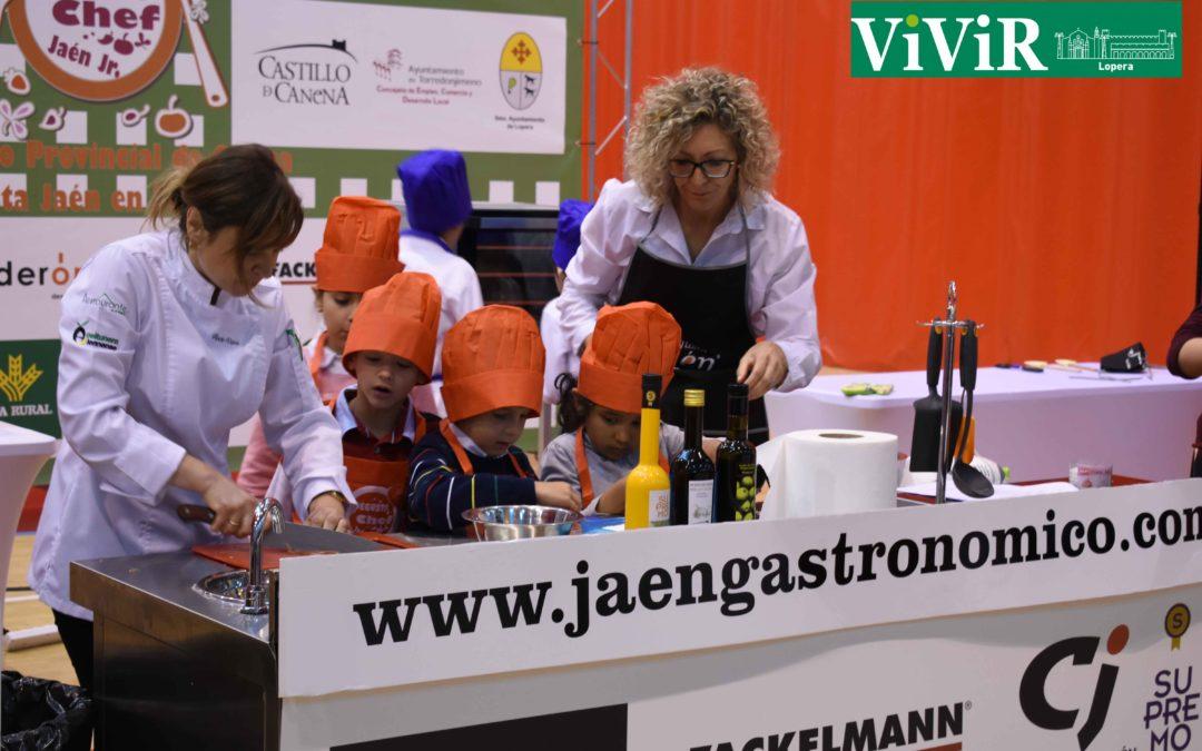 Lopera acoge la semifinal del concurso provincial Degusta Jaén Chef Junior